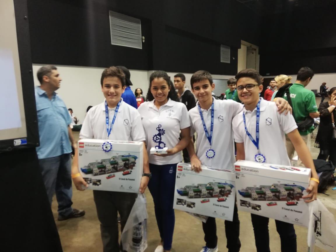 2do. Lugar – Olimpiada Nacional de Robótica WRO 2018
