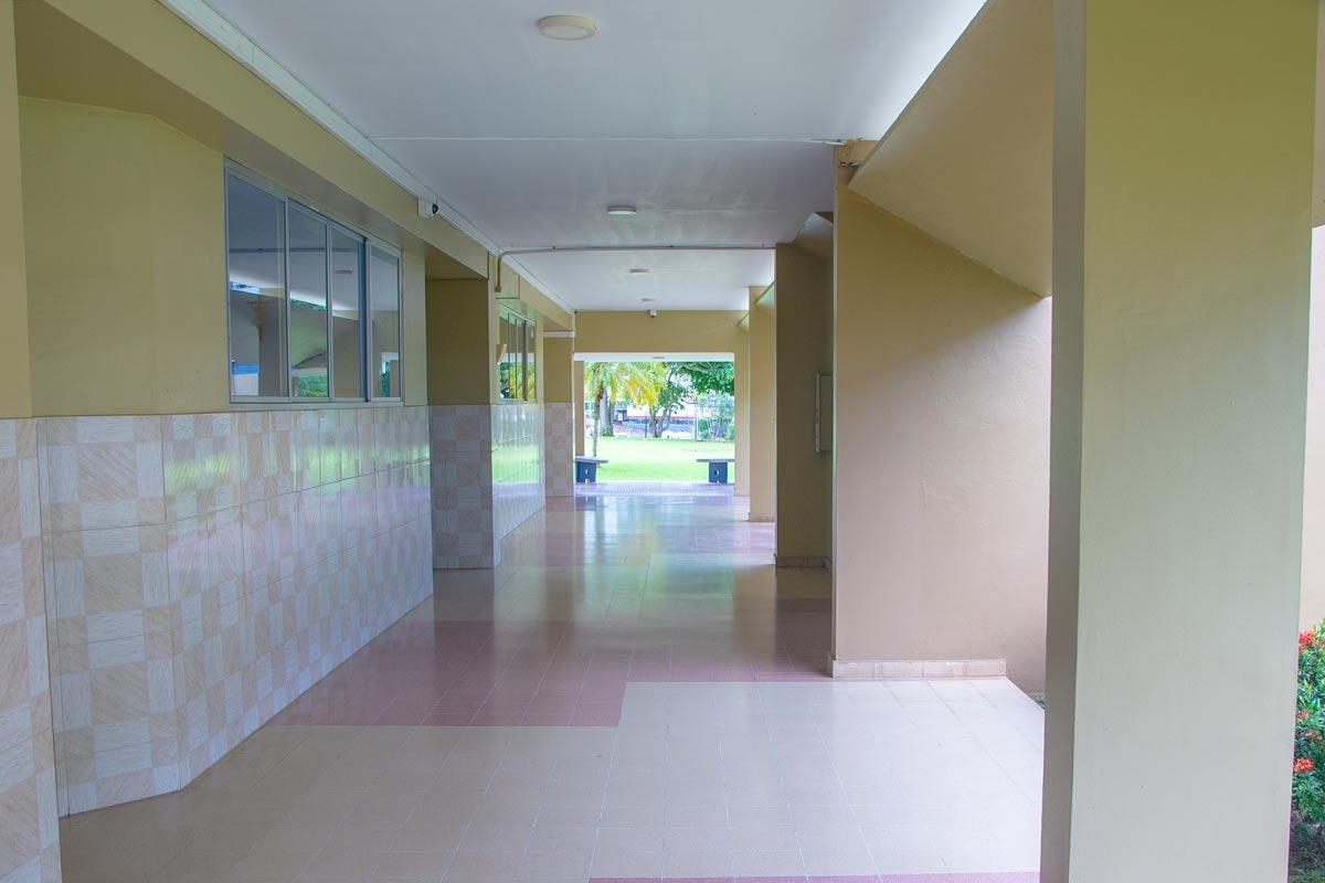 Pasillos del Colegio Internacional de María Inmaculada